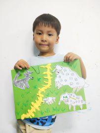 20180604 儿童画提高班《狼来了》