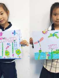 20180326 儿童画提高班《荷塘月色》