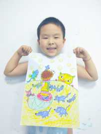 20180521 儿童画提高班《小老鼠上灯台》
